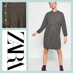 Zara Trafaluc Gingham Dress